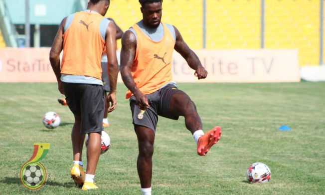 Schlupp, Ashimeru join Black Stars camp for Sudan tie
