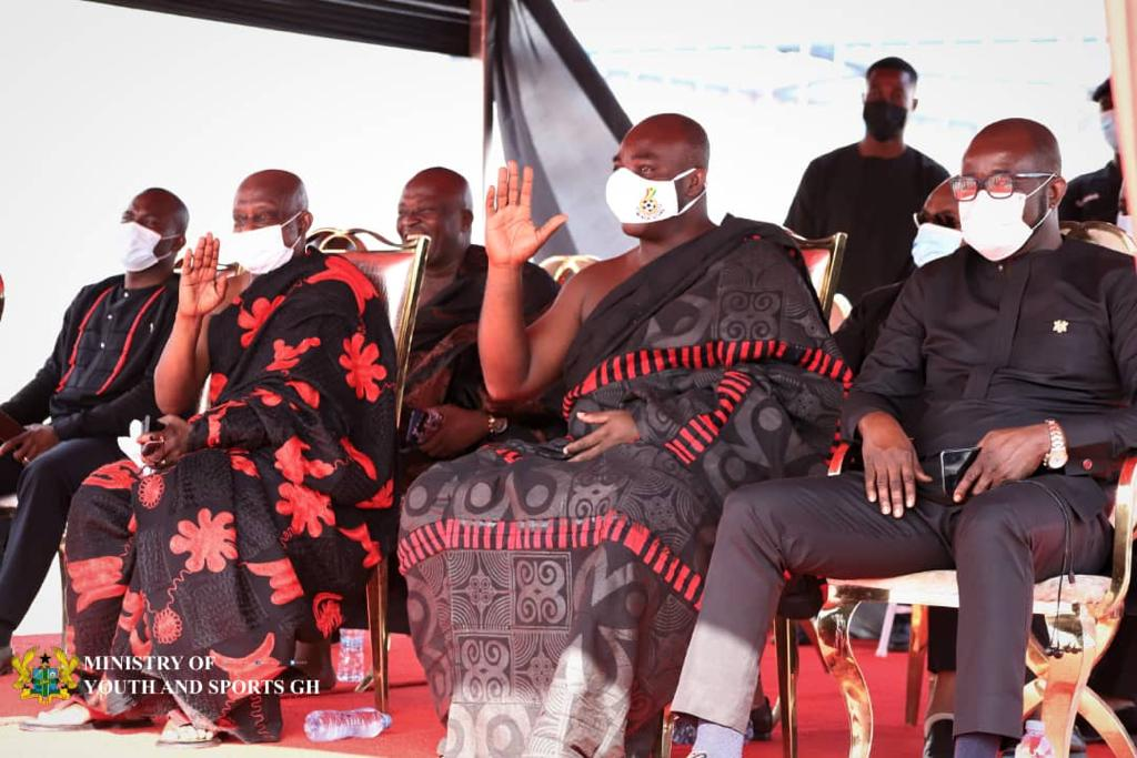 Sports Minister, GFA President pay last respect to late Opoku Afriyie