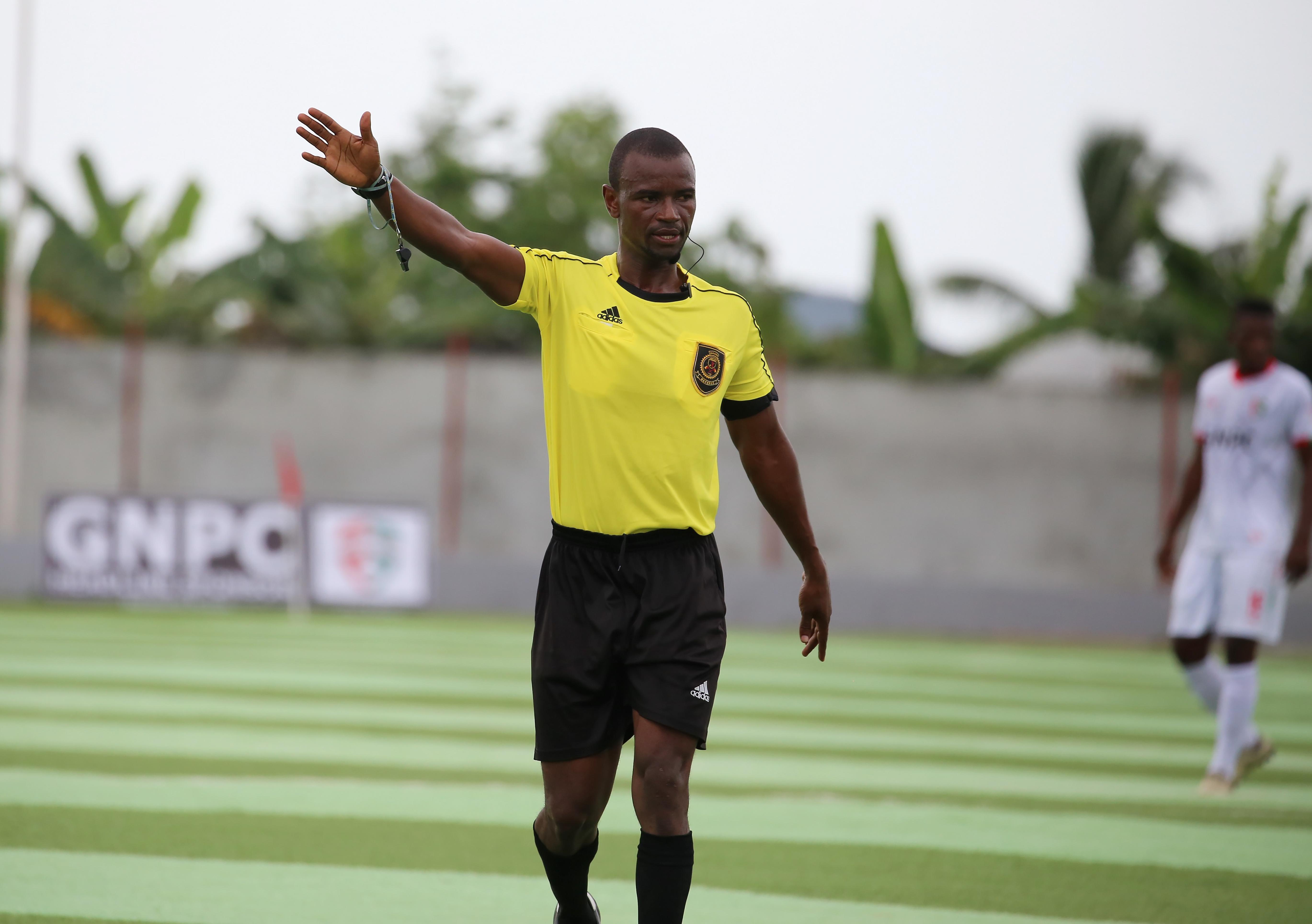 Match Officials for GPL Match Week Four