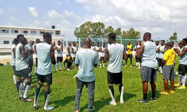 Black Satellites hold first training session in Benin