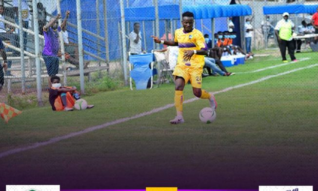 Agyenim Boateng gives Medeama SC first season win in Cape Coast
