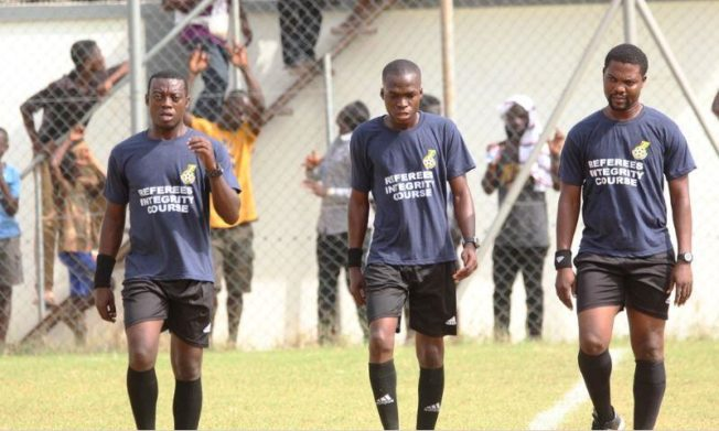 Match Officials for Ghana Premier League Week 6
