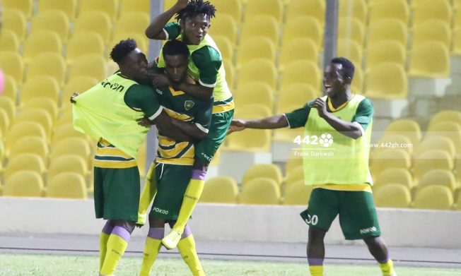 Benjamin Acquah hits double for Ebusua Dwarfs in Legon Cities win