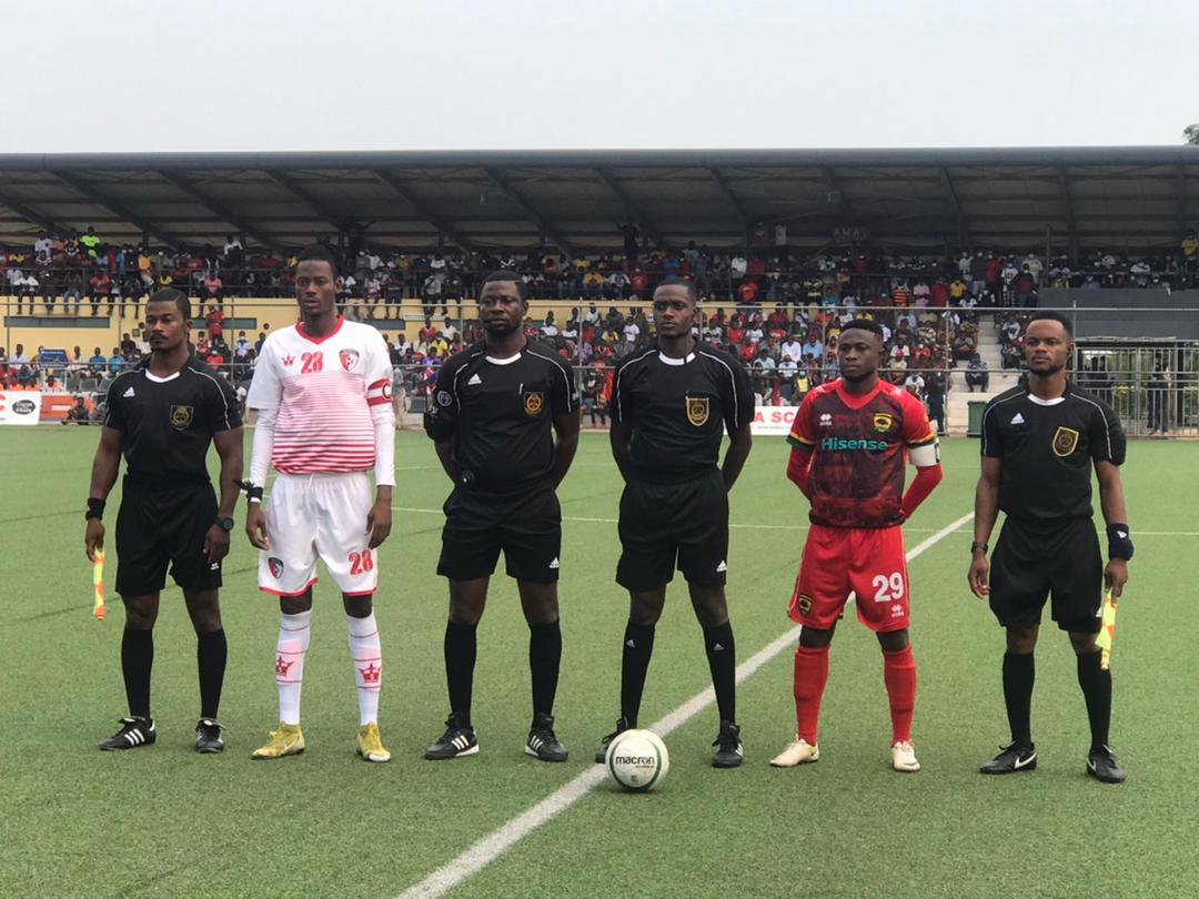 Match Officials for Ghana Premier League Matchweek 10