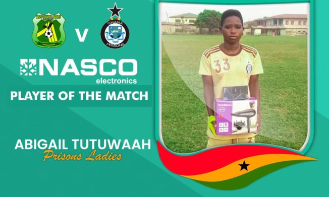Match Report: Prisons Ladies pip Ashtown Ladies by a lone goal in Kumasi