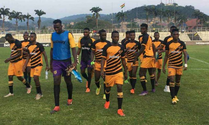 AshantiGold SC draw blank against Medeama SC in Obuasi