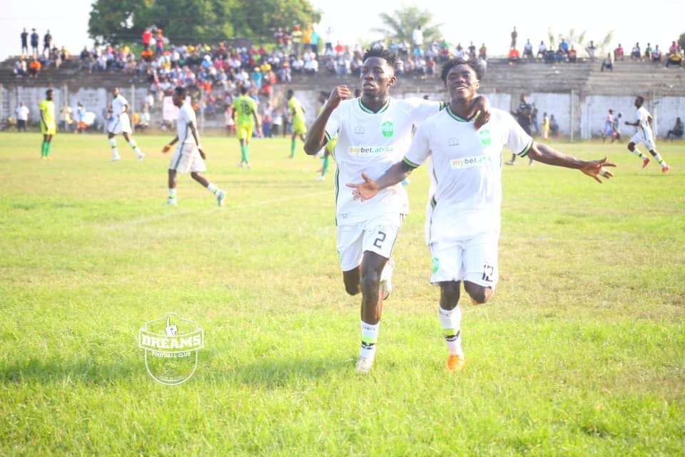 Issah Ibrahim scores late to give Dreams FC draw at Bechem