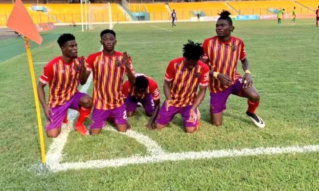 Ruthless Hearts of Oak score six in clinical style against leaders Bechem United