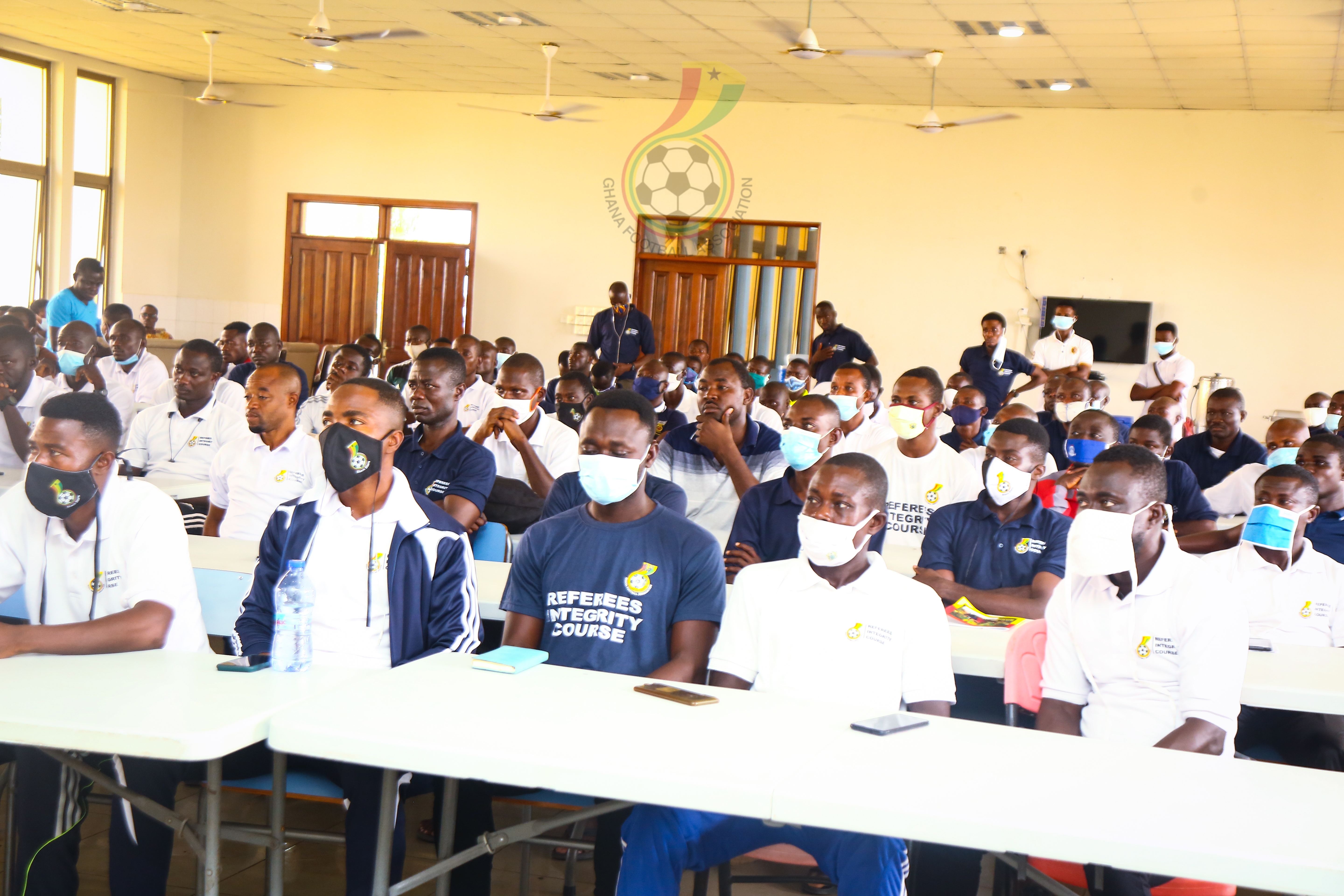 PSX 20210106 154121 - First batch of Referees' end training ahead of Division One League kick off