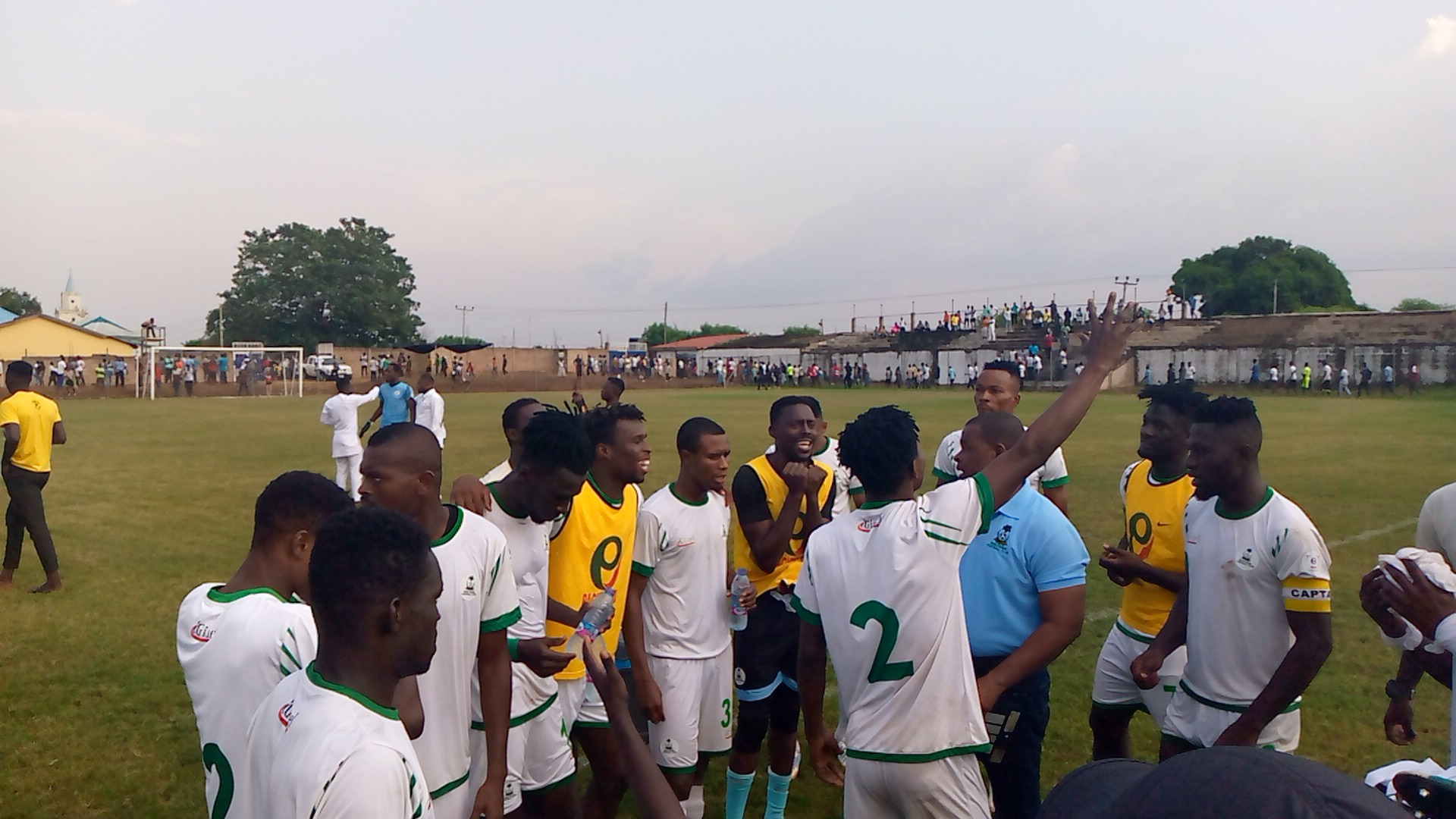 Pepprah's goal secure King Faisal one point at Bechem