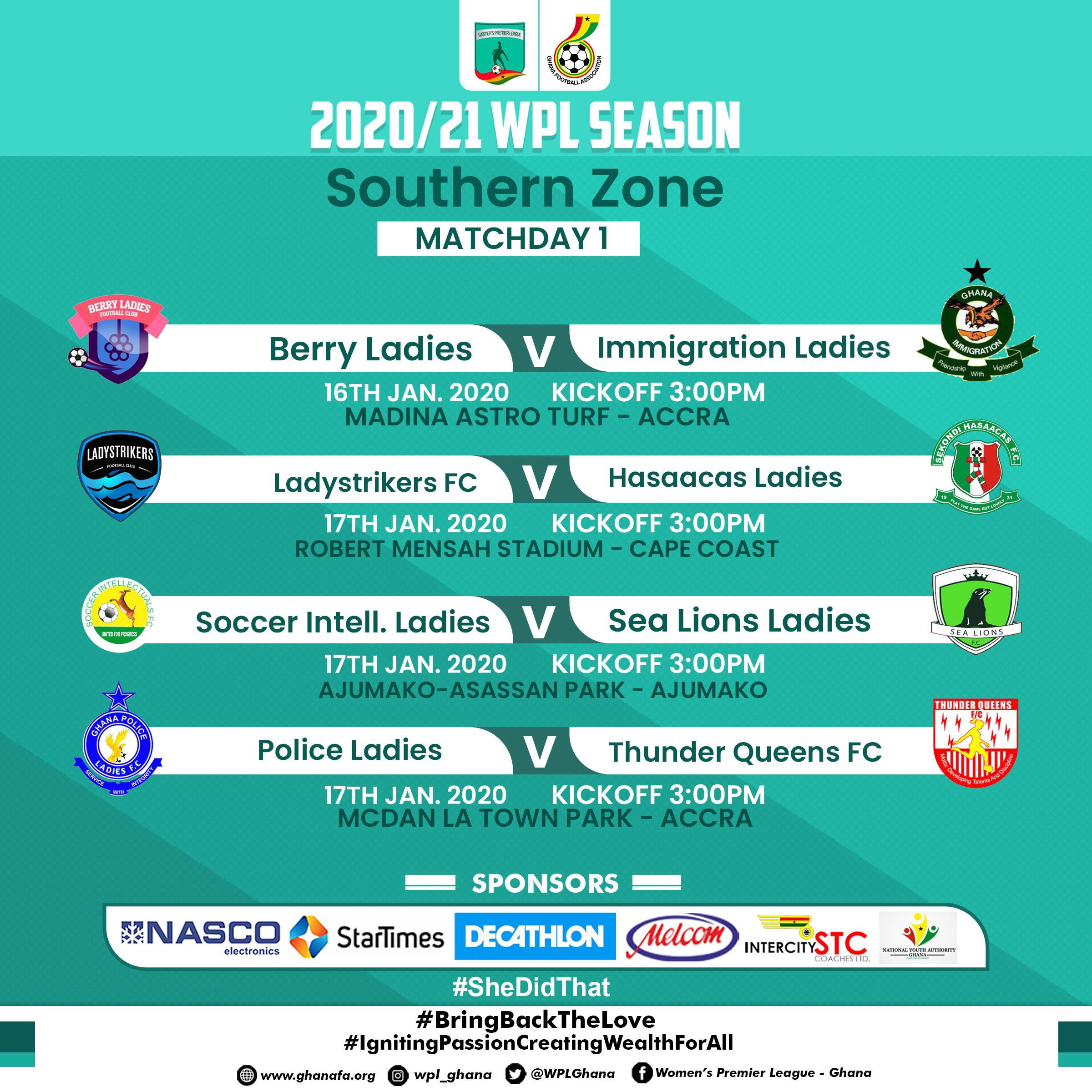 Women's Premier League Match day 1 preview- Southern Zone