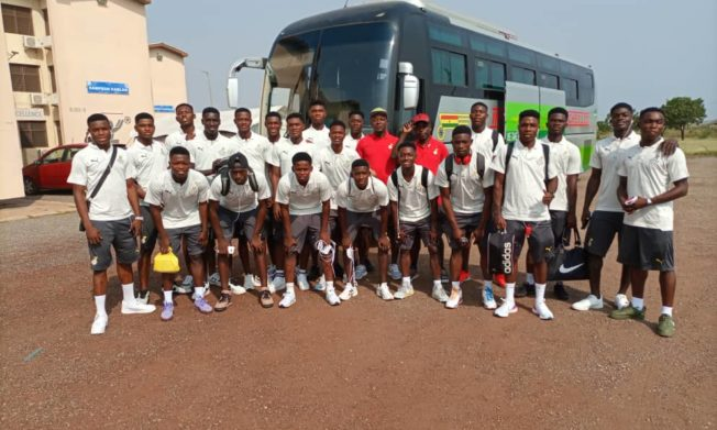 WAFU Cup of Nations: Black Starlets depart Accra for tournament