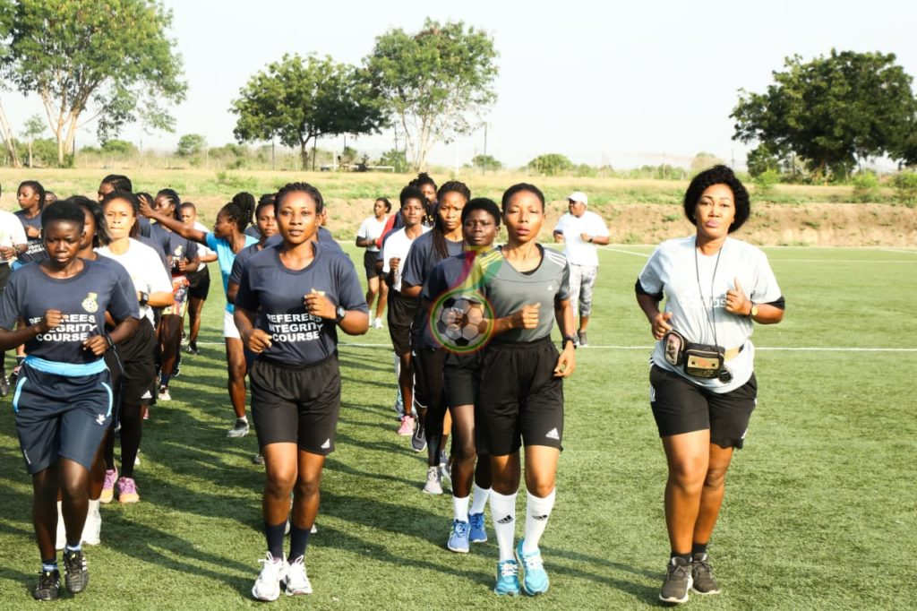 WhatsApp Image 2021 01 13 at 5.57.17 PM 1024x682 - PHOTOS: Seventy-Three Female Referees And Assistants Train Ahead Of New Women's Premier League