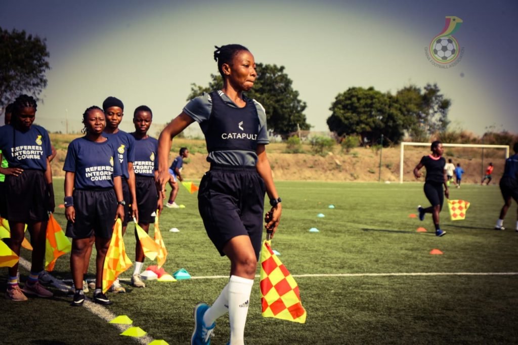 WhatsApp Image 2021 01 13 at 5.57.18 PM 2 1024x682 - PHOTOS: Seventy-Three Female Referees And Assistants Train Ahead Of New Women's Premier League