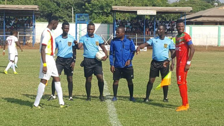 Match Officials for Ghana Premier League Matchweek 9