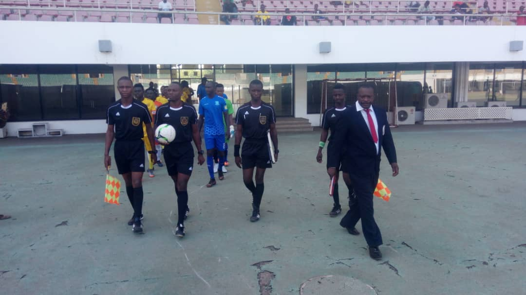 Match Officials for Division One League Matchweek 2