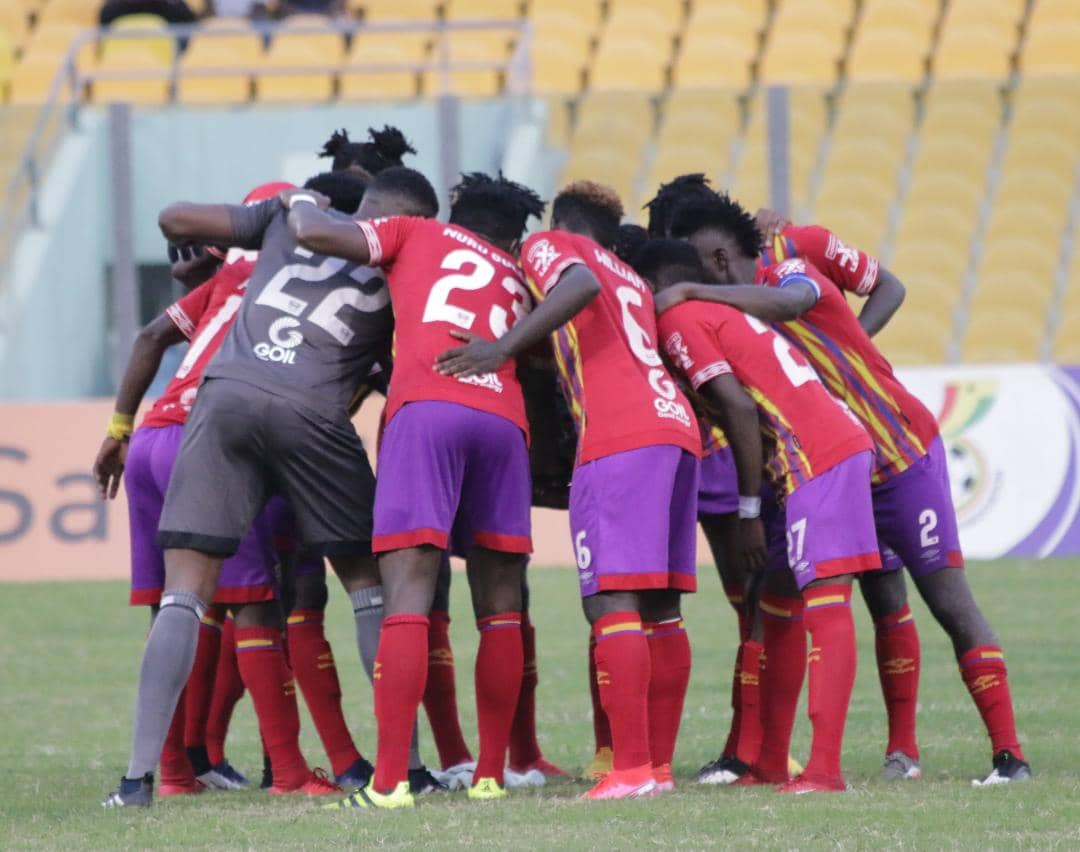 Manaf and Aidoo send Hearts of Oak to fourth with win over Wonders