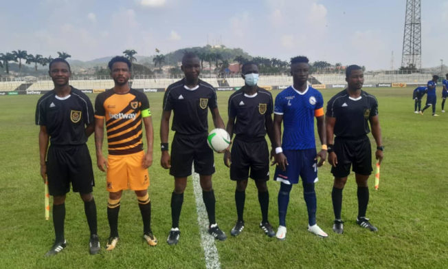 Match Officials for GPL Matchweek 8