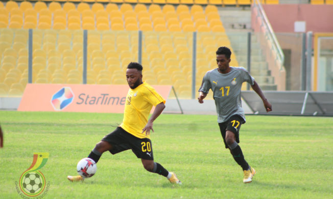 Black Stars break camp after four days training