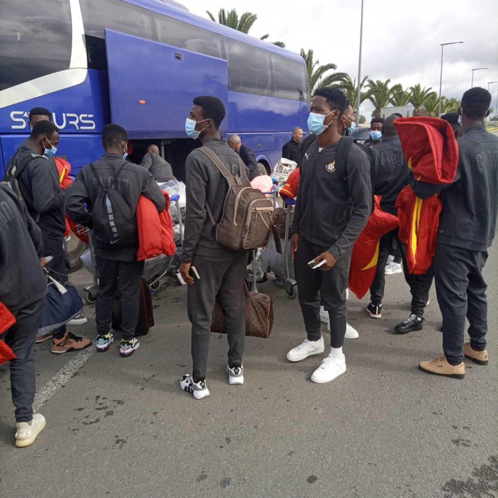 3F518D8E DA21 4A2F B995 FBD568654655 1024x1024 - UPDATE: Black Starlets Arrive In Casablanca For Morocco Friendlies (Photos)