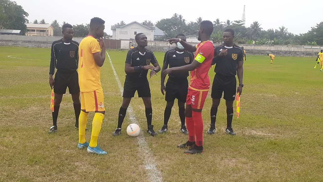 Match Officials for Division One League Matchweek 7