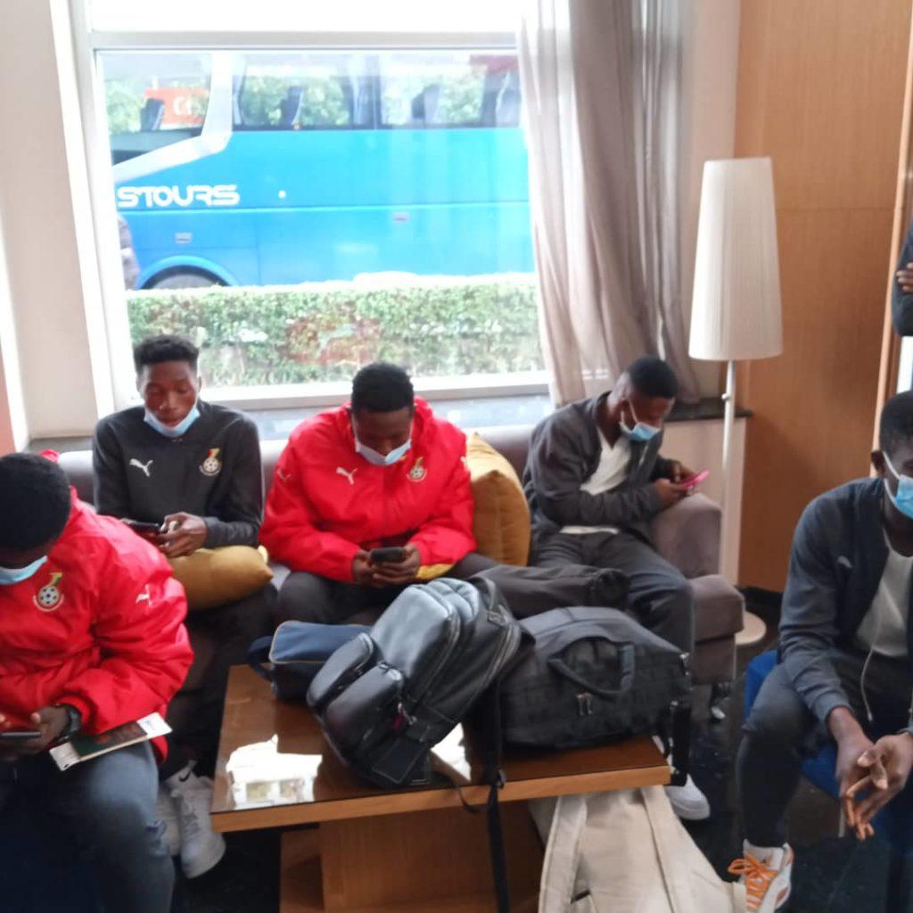 8F35E84E E709 4A48 BEDC 5CFA798BA90D 1024x1024 - UPDATE: Black Starlets Arrive In Casablanca For Morocco Friendlies (Photos)