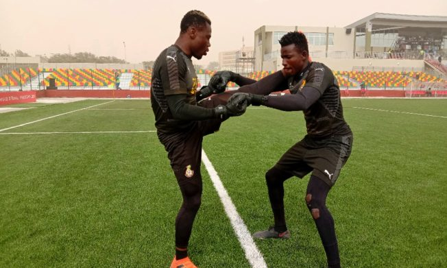 Black Satellites step up preparations for Friday's game against Morocco