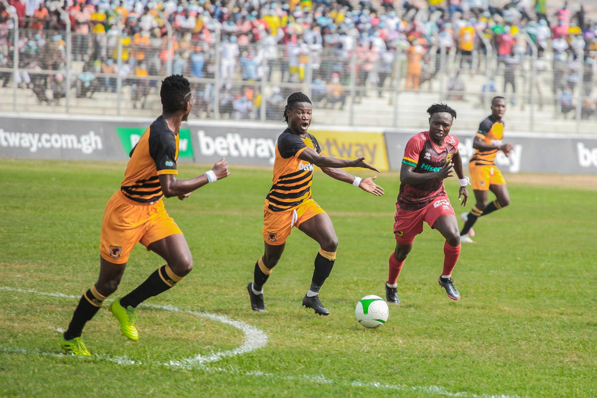 AshantiGold host Hearts of Oak in Obuasi - Preview