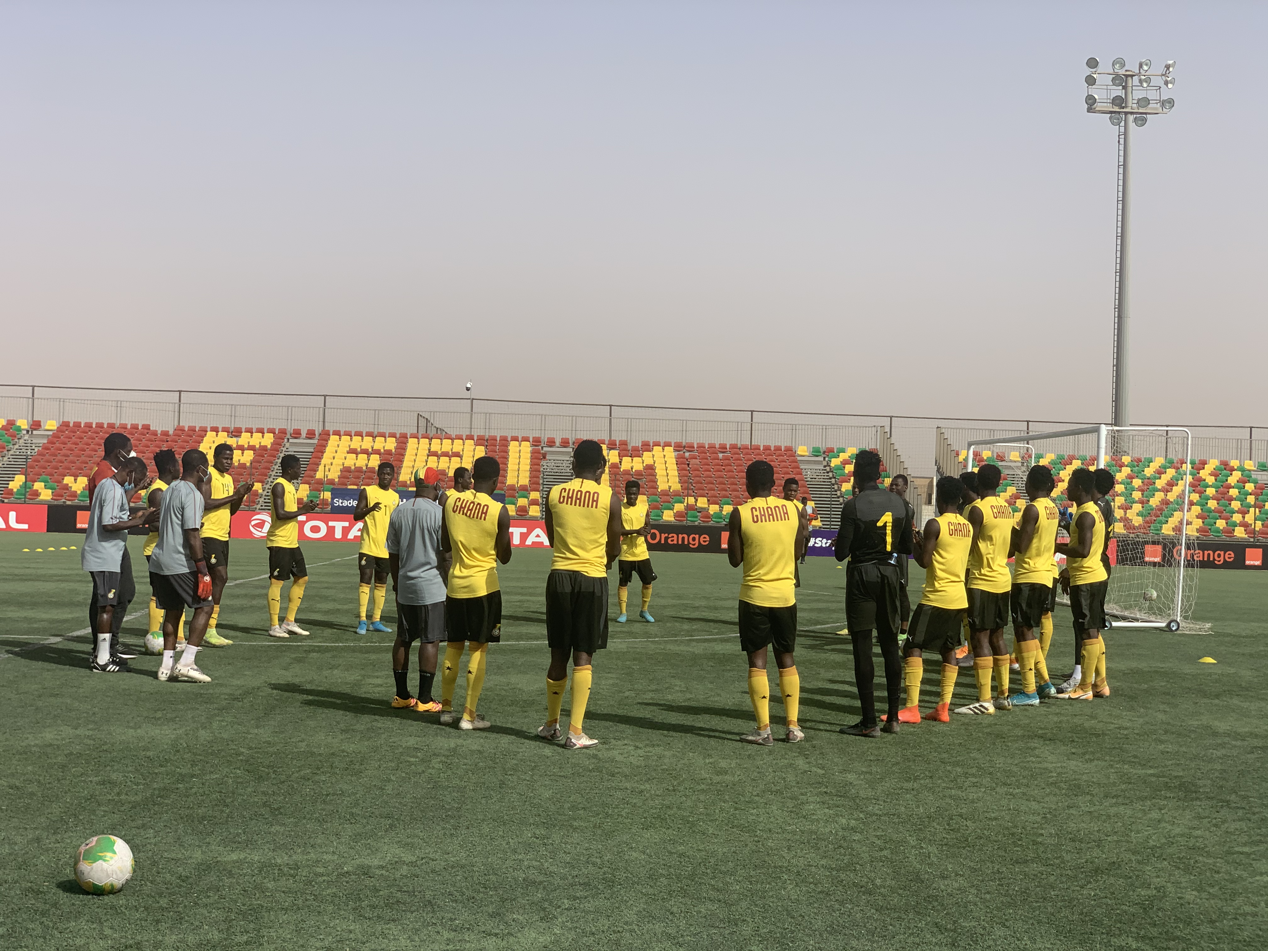 Black Satellites switch attention to semi-final game against Gambia