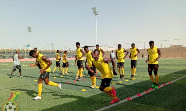 Black Satellites return to training ahead of Gambia match