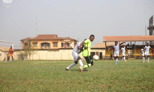 Atta Agyei scores as Berekum Chelsea pip Dreams FC to end unbeaten run