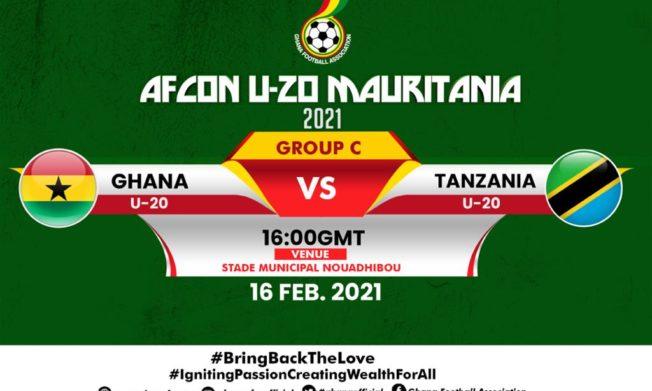 AFCON U-20: Karim Zito names Ghana's starting line up for Tanzania clash