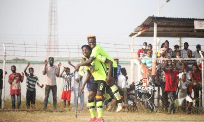 Esso and Fahadu score as Dreams FC silence Eleven Wonders at Techiman