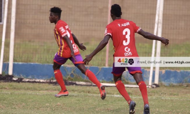 Isaac Mensah strike gives Hearts of Oak win over Liberty