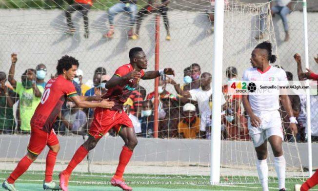 Asante Kotoko shatter Karela home record to go top of table