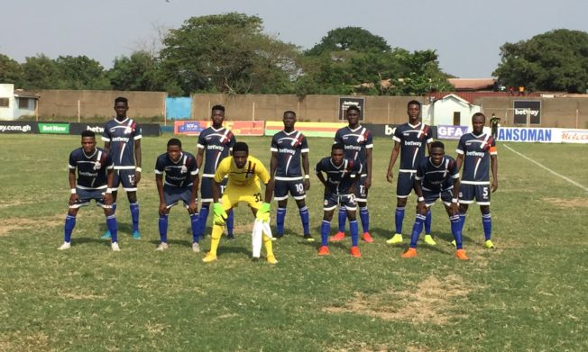 Hashmin scores late to deny Liberty Professionals win in Dansoman