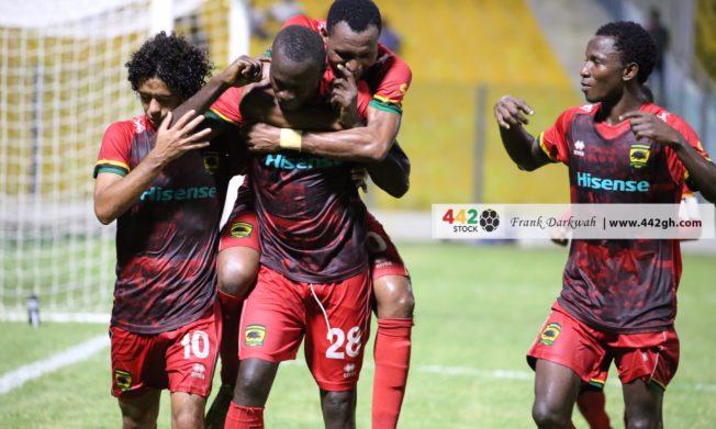 Keita strike gives Asante Kotoko victory against Inter Allies