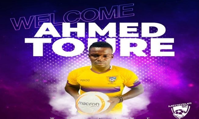 Amed Toure scores brace as Medeama stun Elmina Sharks at home