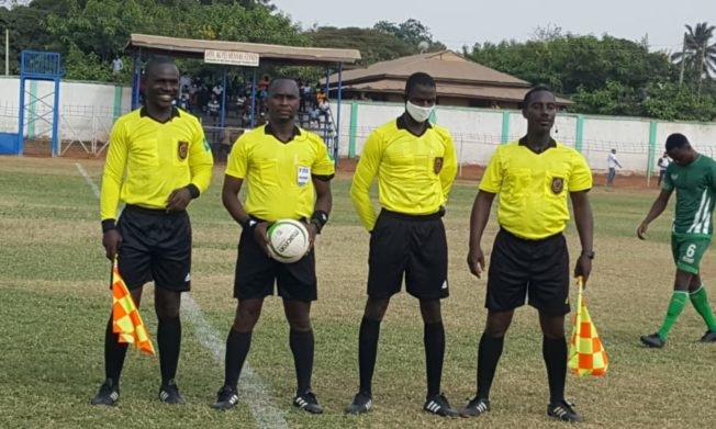 Match Officials for Ghana Premier League Matchweek 12