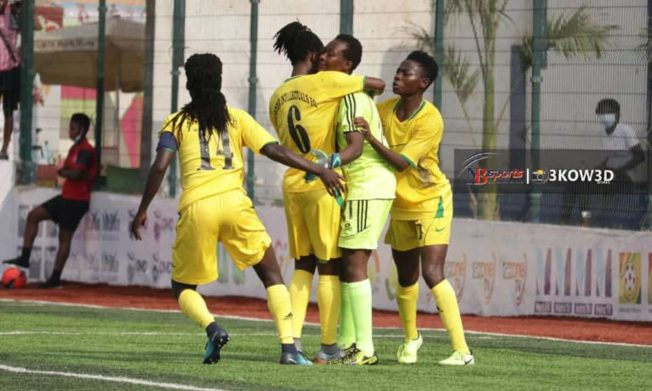 Soccer Intellectuals stun Police Ladies in Accra