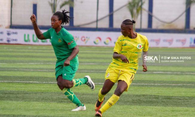 WPL: Hasaacas ladies earn slim win against Thunder Queens FC