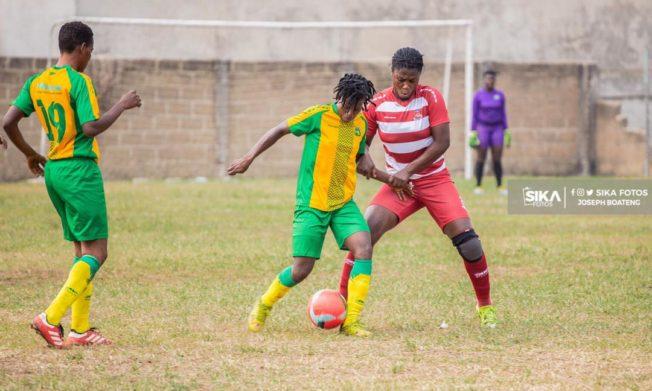 WPL: Ashtown ladies pip Kumasi Sports Academy to win first game of season