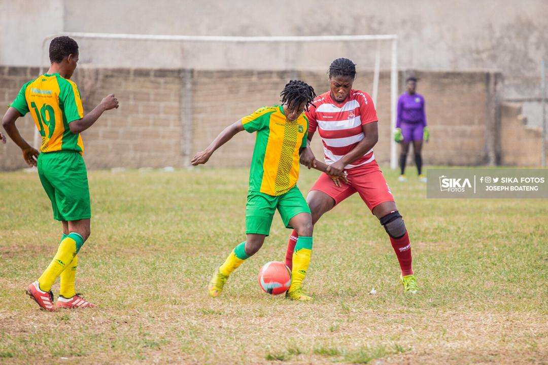 WPL: Ashtown ladies pip Kumasi Sports Academy to win first game of season