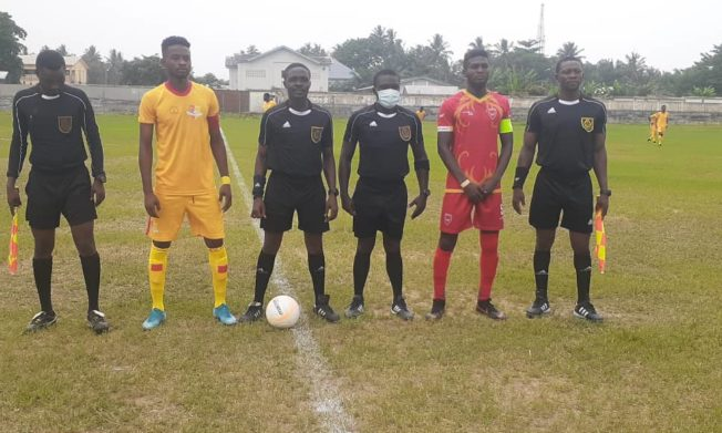 Match Officials for Division One League Matchweek 9