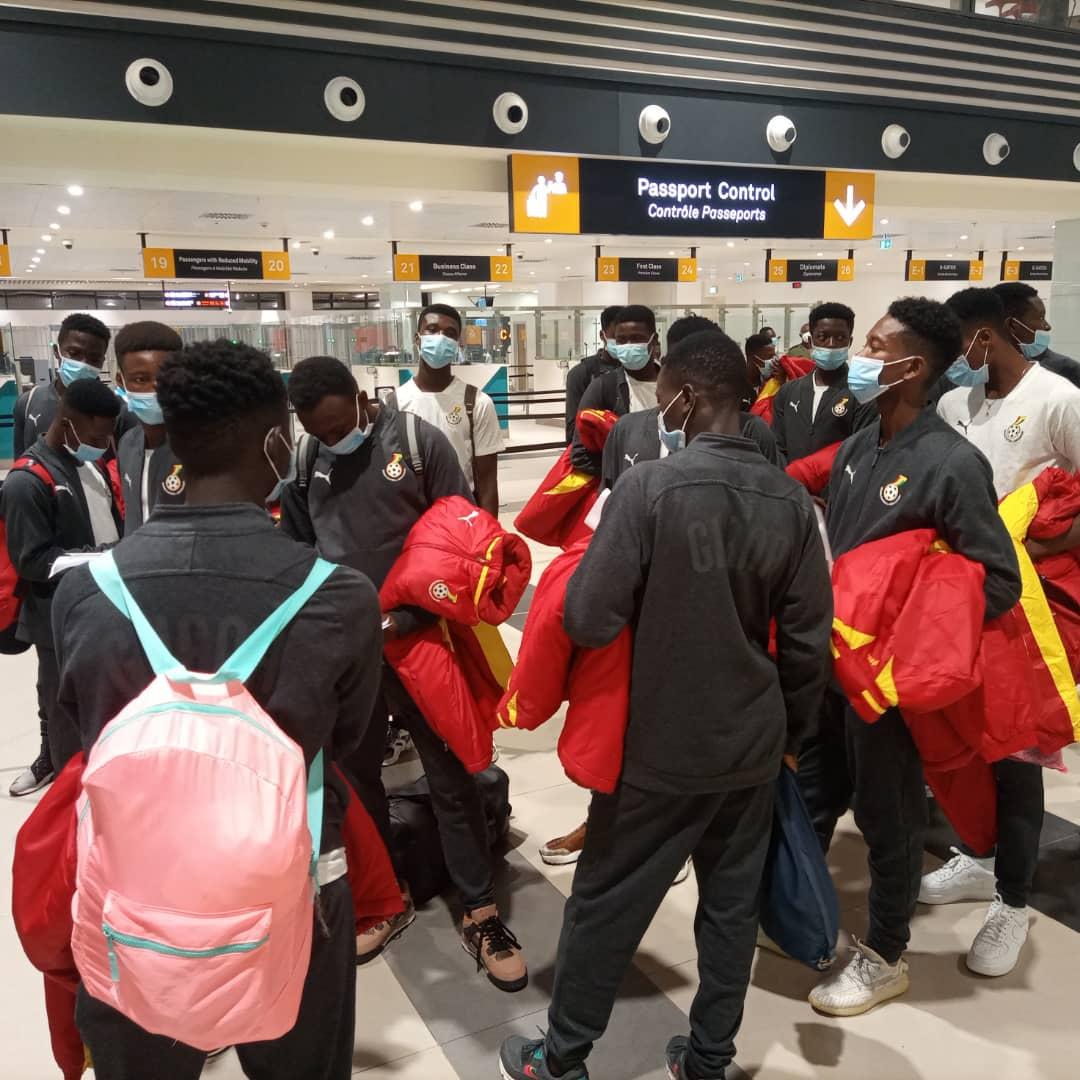 National team development: Black Starlets depart Accra for Morocco