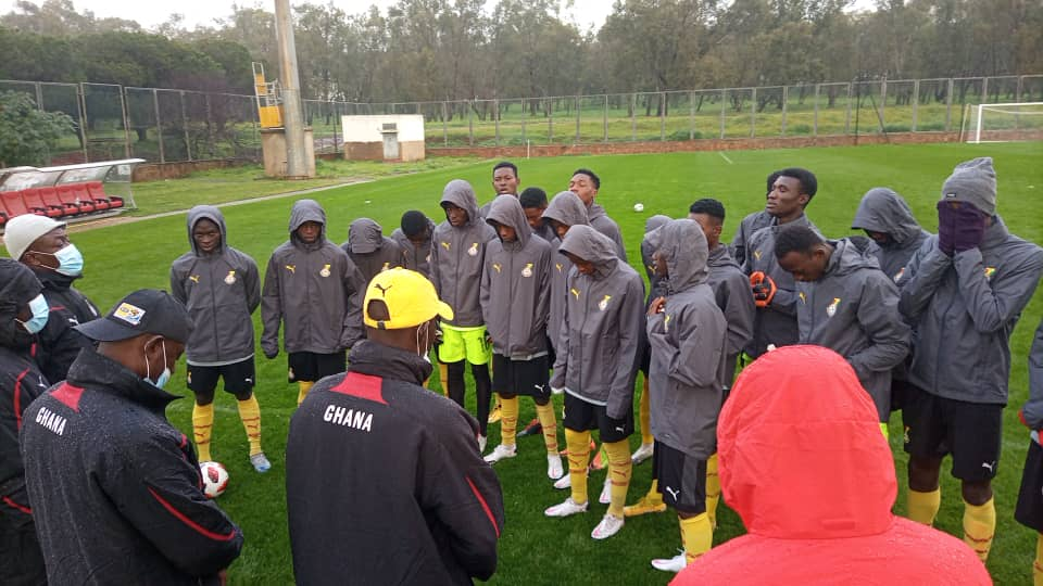 Black Starlets hold first training in Morocco for friendlies
