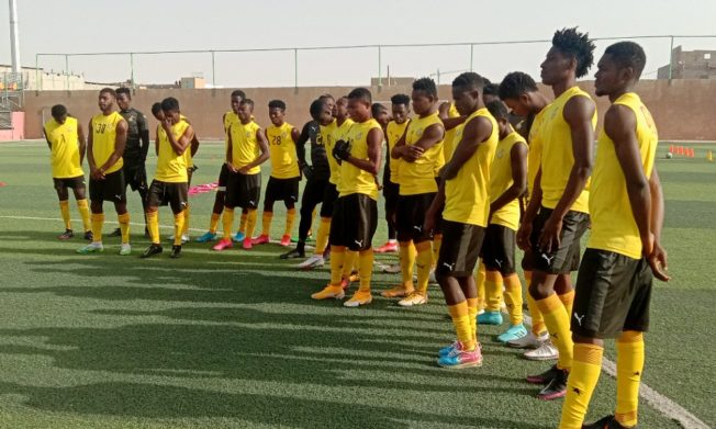 Black Satellites switch camp to Nouakchott for quarterfinal game against Cameroon