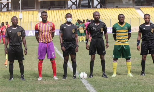 Match Officials for Ghana Premier League Matchweek 17