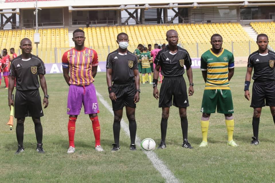 Match Officials for Ghana Premier League Matchweek 16