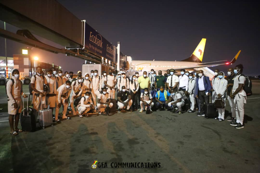 Black Stars back home from South Africa